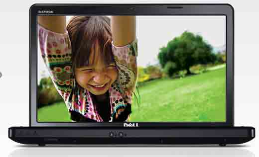 Dell Inspiron 15 with Dual Core Intel processor