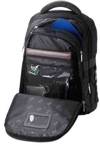 HP Deluxe Nylon Backpack for Perfect Laptop Protection