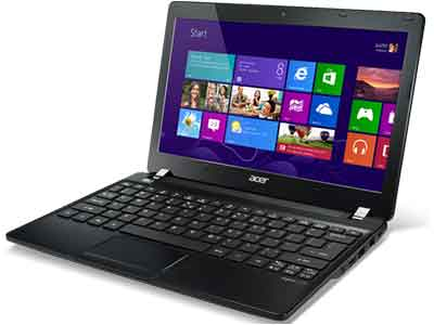 Acer Aspire V5-121 - AMD Dual-Core C-70 Proc., 2GB DDR3 Memory (Upgradable to 4GB), 500GB Hard Drive, 11.6'' HD Display, Windows 8 64-Bit, ATI Radeon HD 6290 Graphics, webcam, Wi-Fi + Bluetooth 4.0, HDMI, USB 3.0, card reader, 6-hour battery