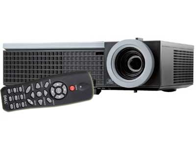 Dell 1510X XGA Value Projector - 3500 ANSI Lumens Brightness, 2100:1 Contrast Ratio, XGA (1024 x 768) Resolution, Up to 4000-hour Lamp Life, HDMI Input, RJ45 Connector for Networking, Dual VGA Connectors and USB Port ... + FREE Carrying Case