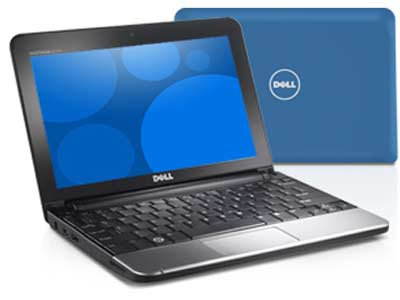 Dell Inspiron Mini 1010 Dell Mini Laptop Featuring Intel Atom N455 (1.66GHz) Processor, 1GB RAM,  320GB Hard Drive, Wireless Connectivity, Webcam, Bluetooth, 6-Cell Battery, 10.1-Inch Display, Windows 7, Office 2010, 1 Yr Warranty