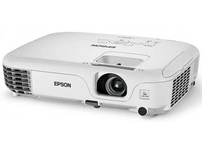Epson EB-S02 3LCD Projector - 2600 ANSI Lumens, SVGA (800 x 600)  Resolution, 4:3 Aspect Ratio, 4000 Lamp Hours, Vertical: ±30° (Automatic) Keystone Correction, Digital Connectivity, 3-in-1 USB Display, Front Exhaust...