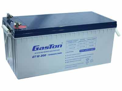 GasTon GT Range Sealed/VRLA 200Ah 12V  Batteries for Power Backup Systems - Top Quality Brand for Solid Performance