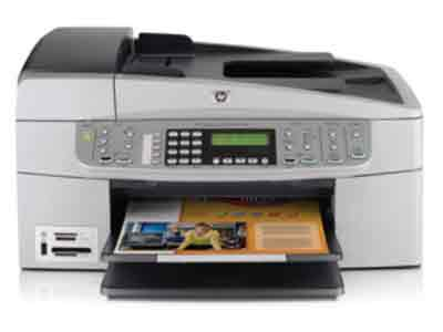 HP Officejet 6313 All-in-One Printer, Fax, Scanner, Copier - HP Multifunction Printer