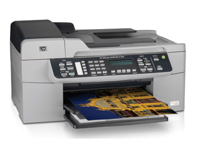 HP Officejet J5780 All-in-One Printer, Fax, Scanner, Copier - HP Multifunction Color Inkjet (Q8232A#ABA)