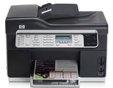 HP Officejet Pro L7590 All In One Printer, Fax, Copier, Scanner - HP Multifunction Printer (CB822A)