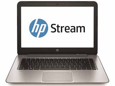 HP Stream Notebook 14-z000na - Portable 14 Inch, Windows 8, Silver-coloured HP Laptop, K0X07EA