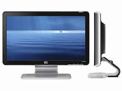HP w1858 18.5-inch LCD Monitor 1366x768 Resolution TFT Screen