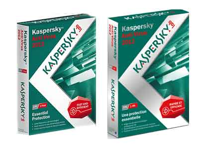 Kaspersky Anti-Virus 2012 - Fully Automated Real-time Antivirus Protection - 1 PC or 3PCs (Select from 'Product Options' Box, Below)