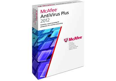 McAfee AntiVirus Plus 2012 1-User & 3-User - With Revolutionary Active Protection Technology