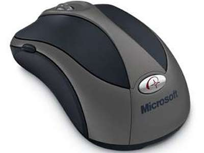Microsoft Wireless Optical Notebook Mouse B2P-00007 - High Quality Microsoft 3 Button Optical Mouse 4000