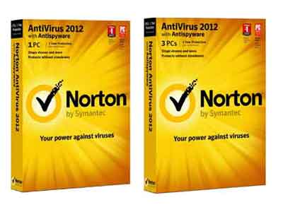 Norton AntiVirus 2012 1-User & 3-User Packages - Total Antivirus Protection for Your PC - Anti-virus, Anti-Spyware, Anti Rootkit, Trojan Protection, Worm Protection, Adware Protection, etc
