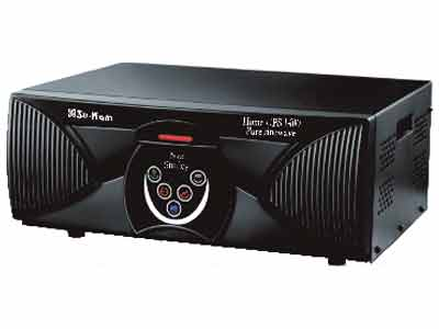Su-Kam 1.5KVA/24V Pure Sine Wave Inverter for Home and Office Appilcations - Online UPS with 1 year Sukam Warranty + Buy with Batteries & Get 2 Energy-saving Bulbs FREE