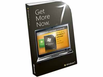 Windows Anytime Upgrade (WAU) Pack - Windows 7 Home Premium to Windows 7 Ultimate DVD